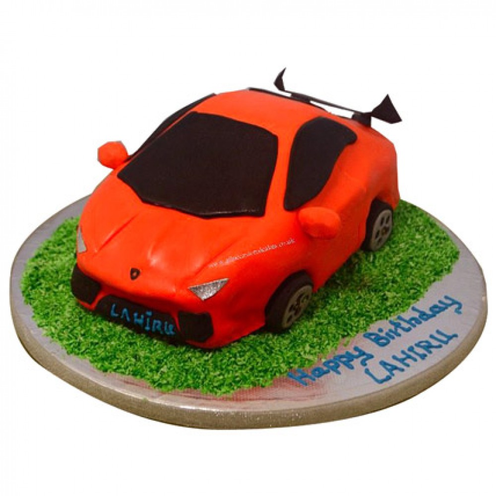 Stylish Lamborghini Cake