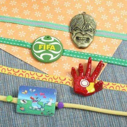 Four Kids Rakhi