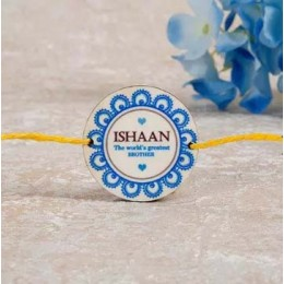 Worlds Greatest Brother Personalized Rakhi