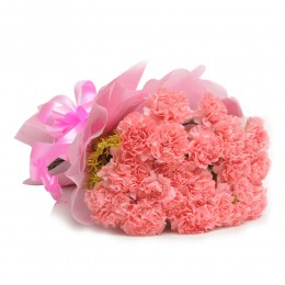 Pink Carnations Passion Bouquet