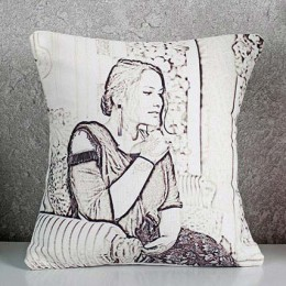 Personalized Sketch Cushion