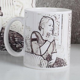 Personalized Sketch Mug