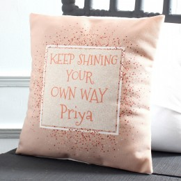 Inspirational Personalised Cushion
