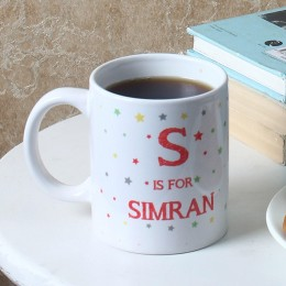 Starry Personalised Ceramic Mug