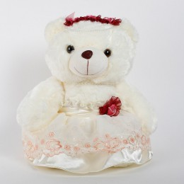 white teddy bear girl