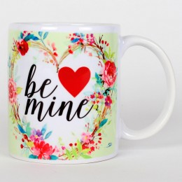 Valentines Be Mine Ceramic Mug