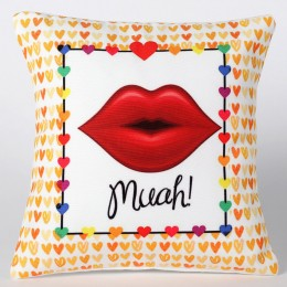 Valentines The Kissing Cushion