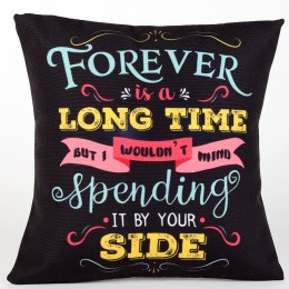 Valentine Forever By Your Side Cushion