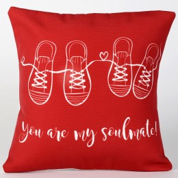 Valentine You Are My Soulmate Cushion