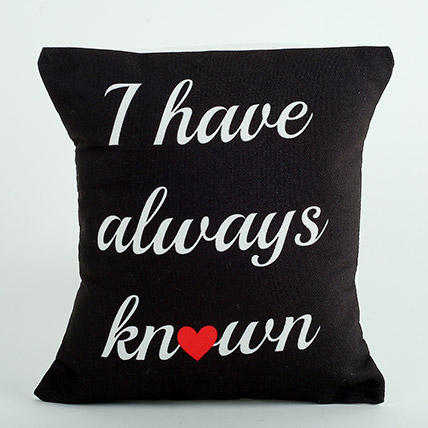 Always Known Printed Cushion