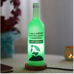 Hug Day Bottle Lamp
