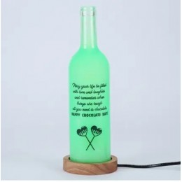 Chocolate Day Bottle Lamp