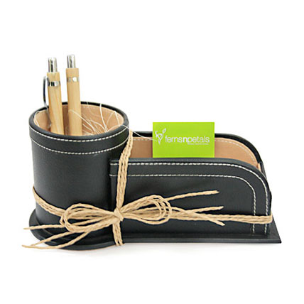 Pen and Card Holder