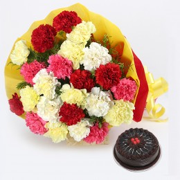 Mix Carnations Combo