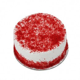 Red Velvet Fresh Cream Cake  Eggless