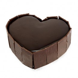 Cute Heart Shape Cake  Eggless