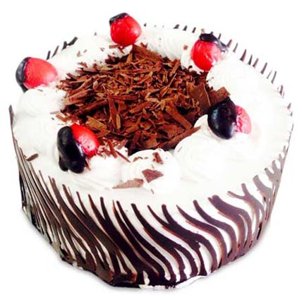 Exotic Blackforest Cake 1kg Eggless
