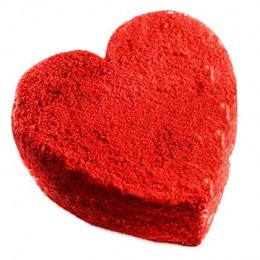 Red Velvet Heart Cake  Eggless