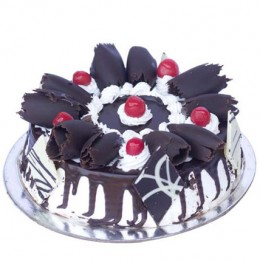 Black Forest Gateau  Eggless