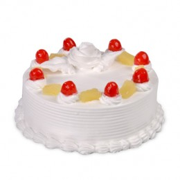 Pineapple Gateaux  Eggless