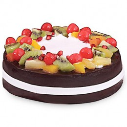 Wild Forest Cake  Eggless