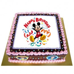 Special Photo Cake  Eggless