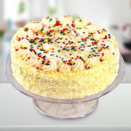 Special Vanilla Cake  Eggless