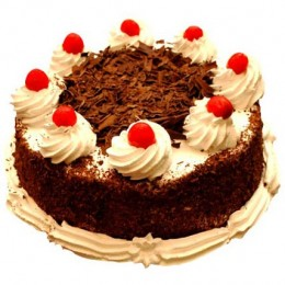 Black Forest Delight Half kg Eggless