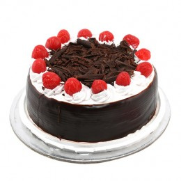 Black Forest with Cherry  Eggless