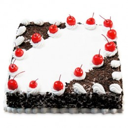 Cherry Blackforest Cake  Eggless