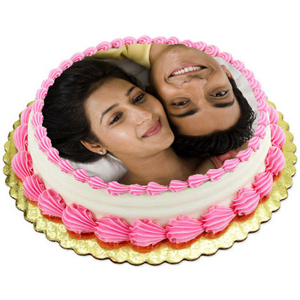 Personalized Creamy Lusciousness 3kg Eggless