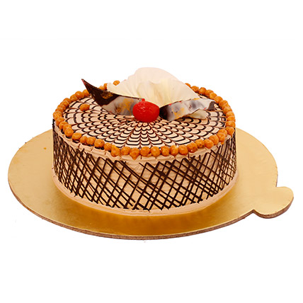Chewy Butterscotch Cake 2KG Eggless
