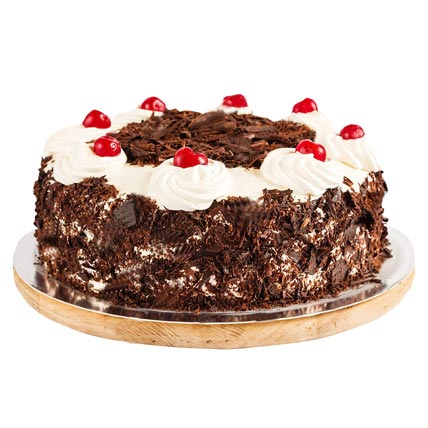 Ambrosial Black Forest Cake  Eggless