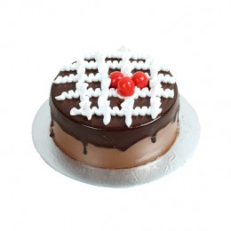 Chocolate Deluxe Cake  Eggless