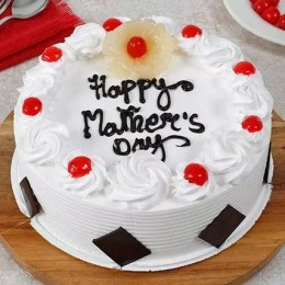Mothers Day Pineapple Cake Half kg-Eggless