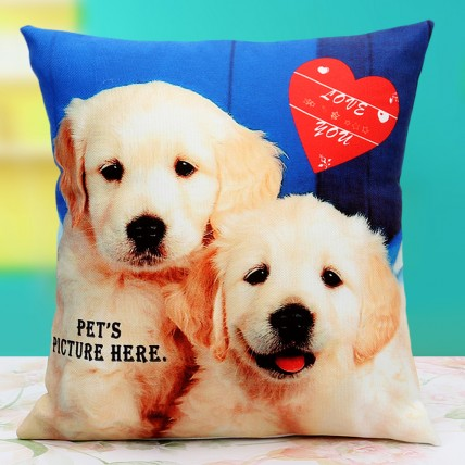 Pat the Pet Personalized Cushion