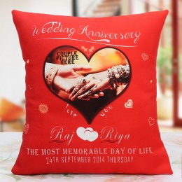 Another Milestone Personalized Cushion