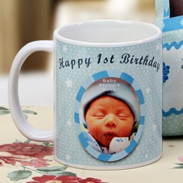 The First Milestone Personalized Mug