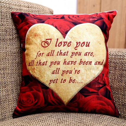 I Love You Cushion