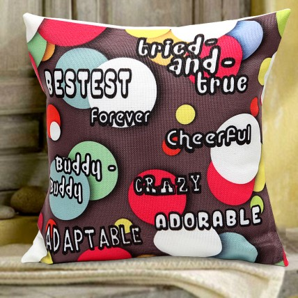 Love n Friendship Cushion