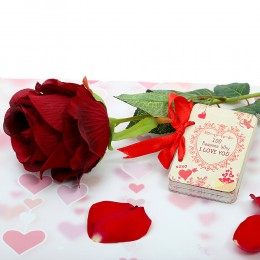 Love Booklet With Rose