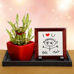 Love Decor n Lucky Bamboo Valentine