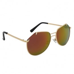 Oval Mirrored Unisex Sunglasses