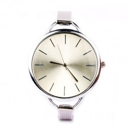Sleek Chic Silver Watch For Women