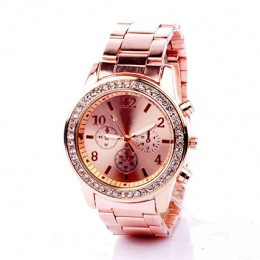 Rinestone Rose Gold Watch