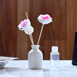 Pink & White Reed Diffuser Set