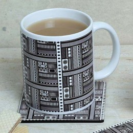 Mug With Matching Coaster