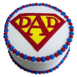 Super Cake For A Super Dad 1kg