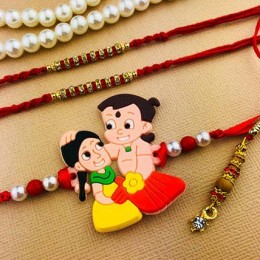 All Family Four Rakhi Set