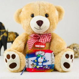 Best Brother Rakhi With Teddy